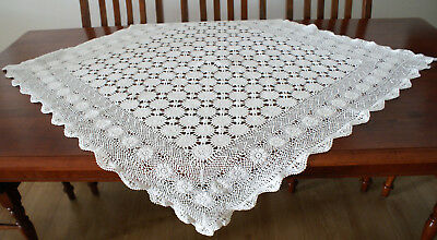 Vintage Tablecloth **exquisite** High Tea, Country, French Prov, Shabby Chic
