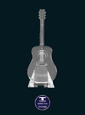 "[SPECIAL OFFER] ""Guitar with Stand"" Austrian Crystal Figurine was AU$92.00"