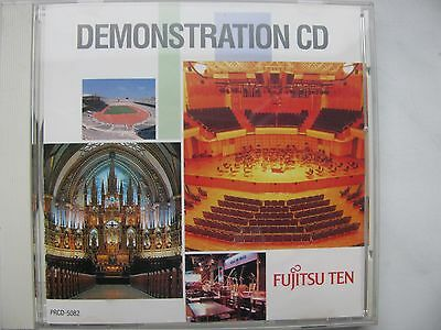 Fujitsu TEN Demonstration CD - Made in Japan