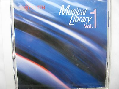 Fujitsu TEN Musical Library Vol. 1 CD - Made in Japan - NEU und Verschweisst