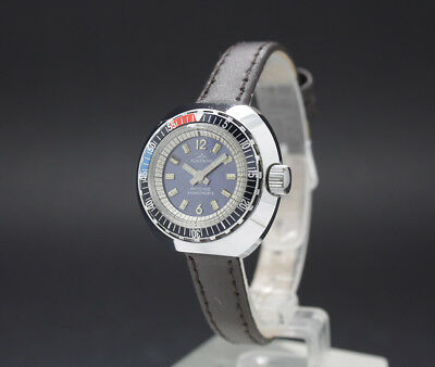 New Old Stock Tiny Ladies FONTAINE DIVER vintage MECHANICAL watch FE 68