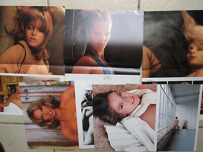 LOT de 5 posters du magazine  LUI EROTISME PIN UP CHARME NUS