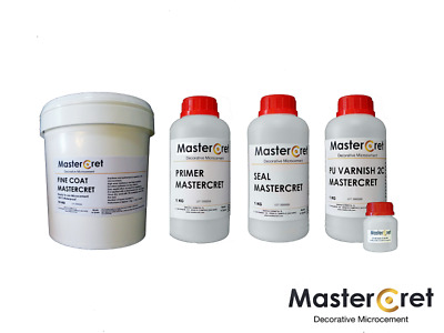 Kit Microcement 10 m2  Paredes Lisas / Smooth Walls