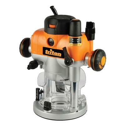 Triton Precision Plunge Duel Mode Router 2400w Power Tool Routers 330165