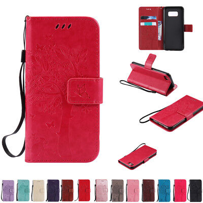 Wallet Leather Case Cover For Samsung Galaxy S3 S4 S5 Mini S6 S7 edge S8 S9 Plus