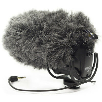Audio For Video Asmr Wind Shield For 3dio Headrec Free Space Binaural Mic Outdoor Fur Windscreen
