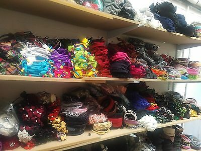 25 x Assorted Hair/Head Bands, Clips, Bows, Hairbands Mixed Bulk Lot NEW Resale
