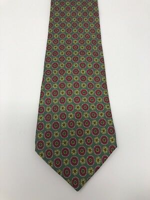 152KT NEW classic men/'s silk neck tie yellow floral geometric prom party ties
