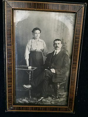 Vintage Black & White Picture With Frame