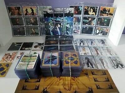 FFVIII Triple Triad Cards 100% COMPLETE Set + Playing Mat + Extras (Smoke free!)