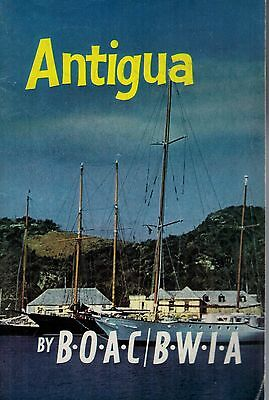 1970'S 52854 B.O.A.C. / B.W.I.A. Guide To  ANTIGUA
