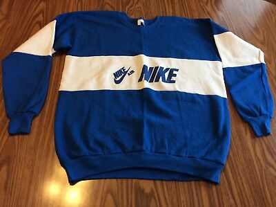 80's VTG Nike sweatshirt made in USA extra large 50/50 blend 90's shirt crew AIR