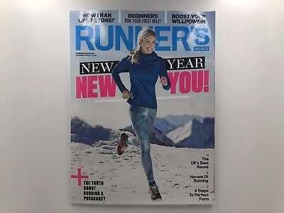 Runners World UK Magazine February 2018 NEW