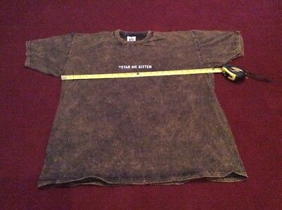 R.E.M. Original 1992 Star Me Kitten - T Shirt Automatic For The People  XL REM