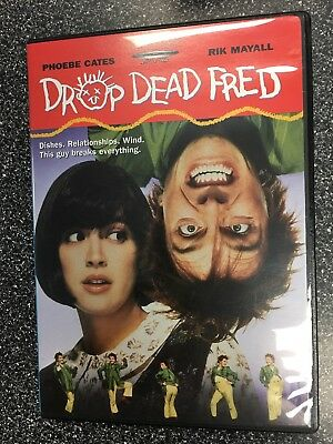 DROP DEAD FRED DVD (1991) - Region 1 USA - Phoebe Cates - Rik Mayall OOP movie