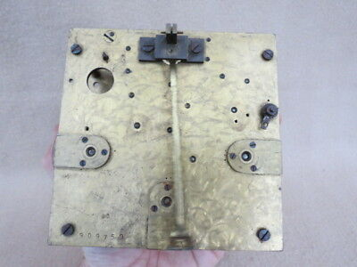 Good Quality Antique German Triple Train Clock Movement For Spares