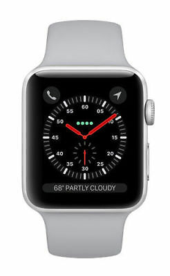 Apple Watch Series 3 42mm Silver Aluminium Case with Fog Sport Band (GPS) - (MQL
