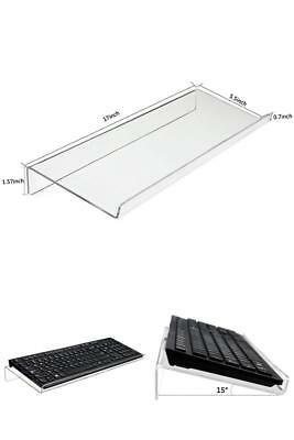 Keyboard Stand HBlife Clear Acrylic Premium Tilted Computer Keyboard Holder for