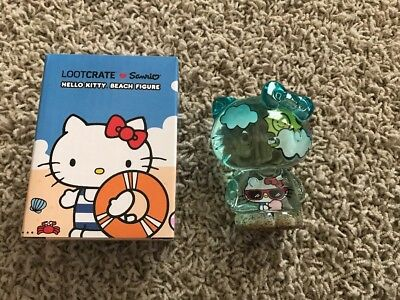 Loot Crate - Hello Kitty - Sanrio - Translucent Beach Figure - NEW