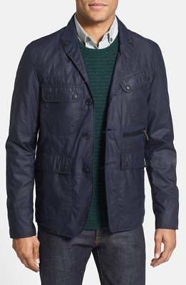 NEW! BARBOUR x White Mountaineering' Waterproof Trim Fit Wax Cotton Jacket (M)