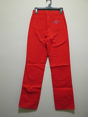 GWG RARE Collector Vtg 70s High rise RED denim JEANS 25