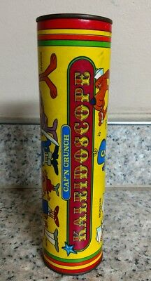 vintage Captain Crunch kaleidoscope cereal promo advertising toy