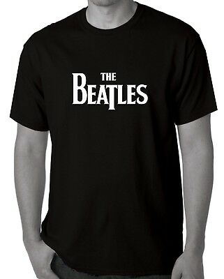 The Beatles Ladies Logo T-Shirts Aussie store sale item 3XL Black  more in shop