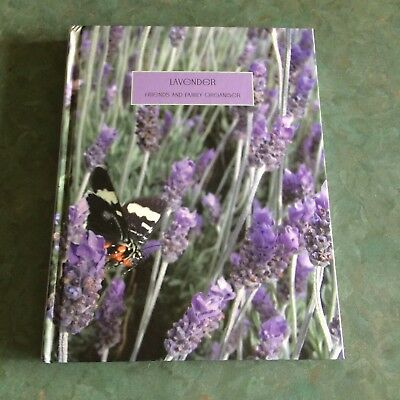 Lavender Friends and Family Organiser Address Book