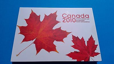 Canadian Mint set of 2010 UNCIRCULATED coins (Canada UNC). Make offer ? Reg Post
