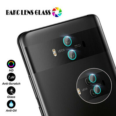 Back Camera Lens 7.5H Tempered Glass Film Skin For Huawei Mate 10 / 10 Pro Lot