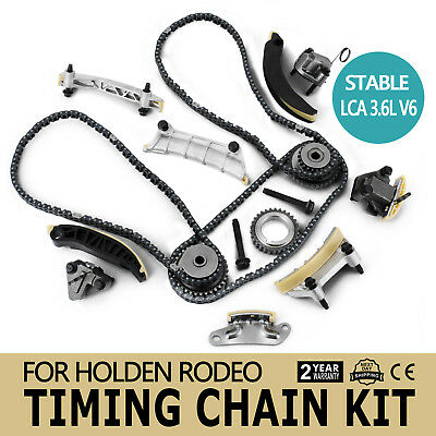For Holden Commodore Timing Chain Kit +Gears VZ VE VF Alloytec LY7 3.6L V6 07-18