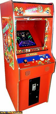 G-18-R Classic Arcade Machine TV Video Spielautomat Standgerät Jamma 412 Games