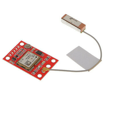 AU GYNEO6MV2 GPS Module NEO-6M GY-NEO6MV2 Board with Antenna for Arduino