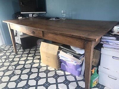 Antique Fruitwood Dining Table