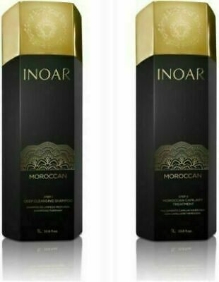 INOAR MOROCCAN Brazilian Keratin Treatment Hair Straightening GENUINE - UK STOCK