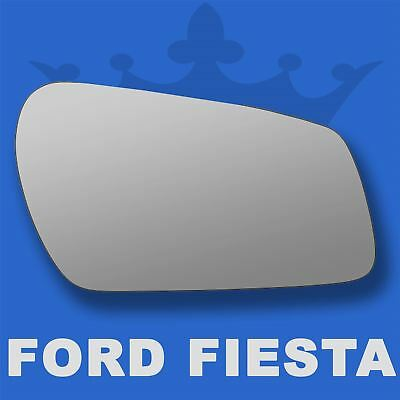 Ford Fiesta wing door mirror glass 2004-2007 Right Driver side Flat