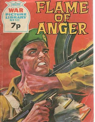 1974 939 31618 War Picture Library  FLAME OF ANGER