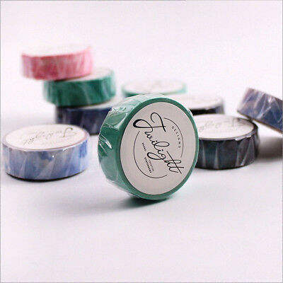 """""""Dreamy Space"""" 7 Rolls Washi Tape Scrapbooking Sticker Adhesive Masking Tapes"""