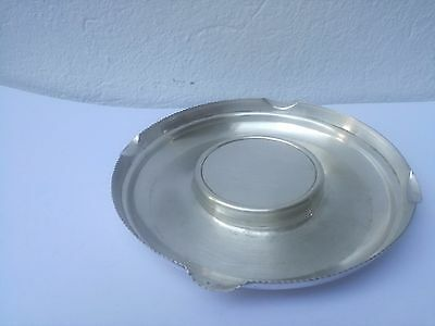 ASHTRAYS silver 800 Lombello Guido and Gino silver ashtray 1935 vintage