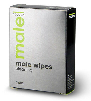 MALE COBECO WIPES CLEANING (6x2,5)Lotion Spanish Fly Cream Delay Super Sex Delay