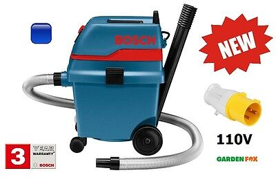 new PRO Bosch 110V GAS 25L SFC - DUST EXTRACTOR - 0601979141 3165140260480