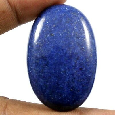 75.80ct Excellent Quality Natural Lapis Lazuli Oval Cabochon Loose Gemstone