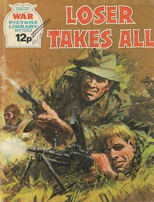 1977  No 1344 33065 War Picture Library  LOSER TAKES ALL
