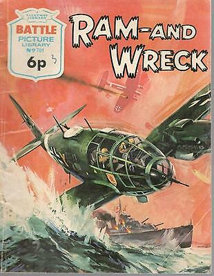 1973 No 701 33439 Battle Picture Library  RAM-AND WRECK