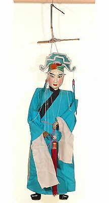 """Asian Chinese Handmade Opera String Marionette Puppet Doll 28"""""""