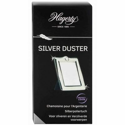 Hagerty Large Silver Duster Cloth Jewellers Polishing Cleaning Silver Jewellery