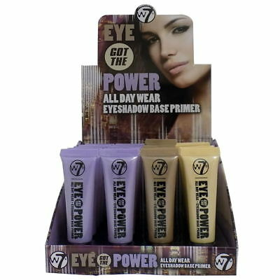 W7 Eye Got The Power Eye Shadow Base Primer - All Day Wear - Various Available