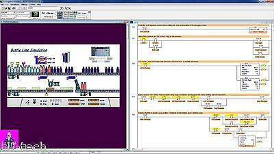 NEW LogixPro 500 Allen Bradley RSLogix 500 Training CD with Simulation Solutions