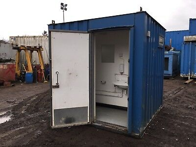 Toilet Block Shower Block 8x8 Steel Portable (More Available)