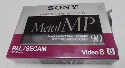 Sony Metal MP P5-90 - 8mm - 90 minute Video Camera Cassette Tape New Never Used